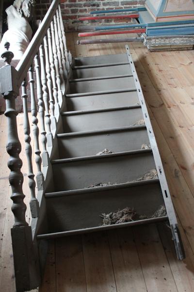 trap van de preekstoel