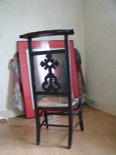 Kerkstoel van de familie De Veuster