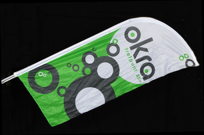 Strandvlag van Okra nationaal