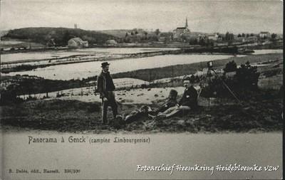 Panorama à Genck (campine Limbourgeoise)