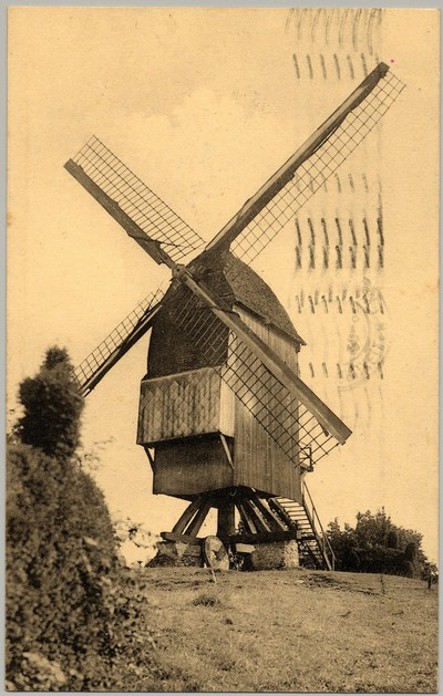 Windmolen in Sint-Pieters-Kapelle
