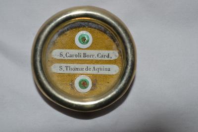 Reliekhouder H. Carolus Borromeus en H. Thomas van Aquino