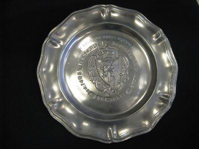 tinnen bord - Championnat de Belgique'
