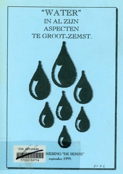 Water in al zijn aspecten te Groot-Zemst