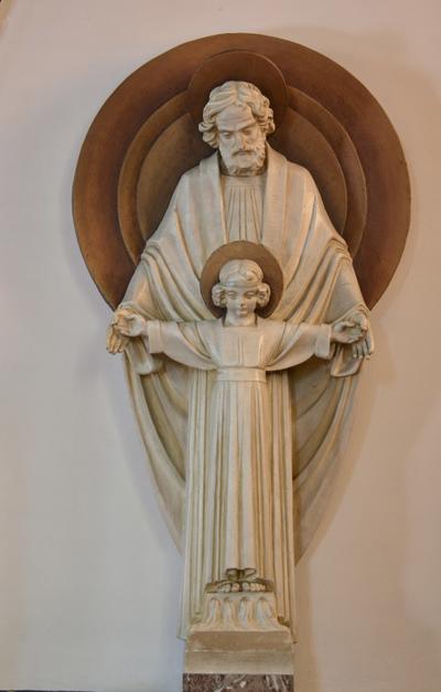 Sint-Jozef met kind Jezus