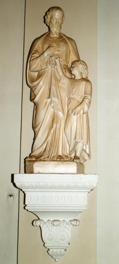 Sint Jozef met het Kind Jezus