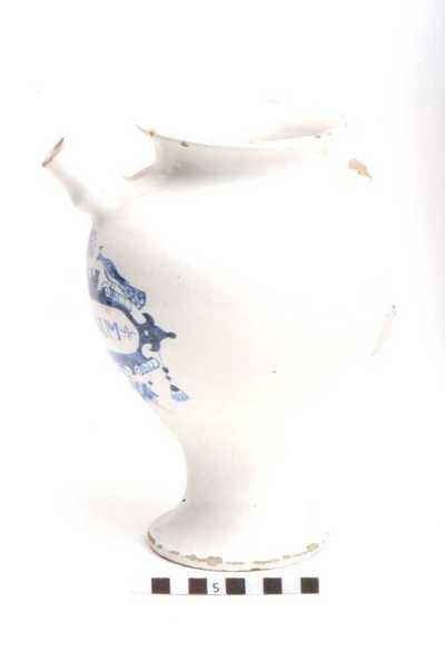 Delfts blauwe apothekerspot; S LIMONUM