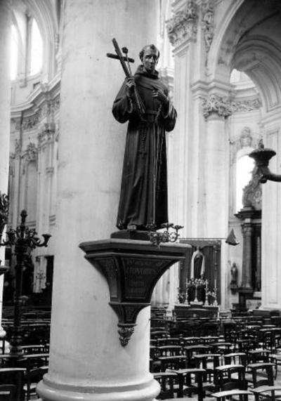 Beeld. van de heilige Leonardus van Porto Maurizio