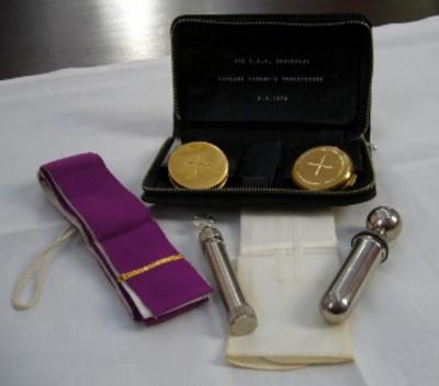 set voor toediening laatste sacramenten
