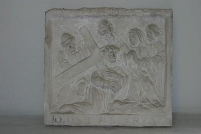 Kruisweg statie: Christus ontmoet zijn moeder (10 ONT M MARIA)