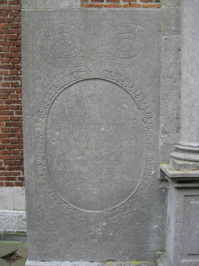 grafsteen Schaurinck Guilielmus
