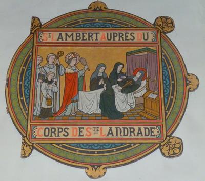 St Lambert auprès du corps de Ste Landrade