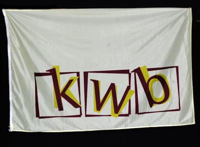 Vlag van K.W.B. nationaal 1 van Genenbos