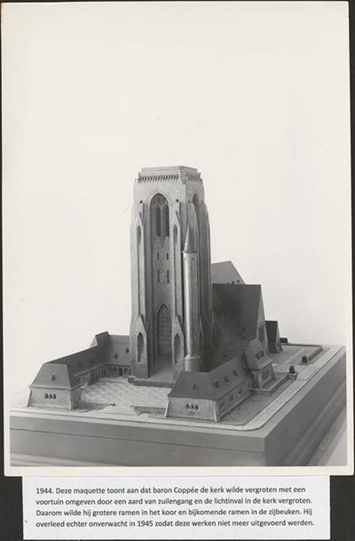 Maquette Sint-Barbarakerk.
