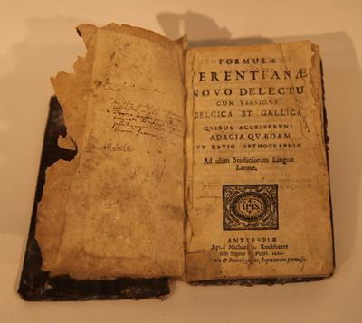 FormulaeTerentianae Novo Delectu cum versione Belgica et Gallica
