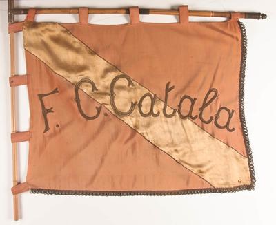 Vlag voetbalclub Catala Drogenbos
