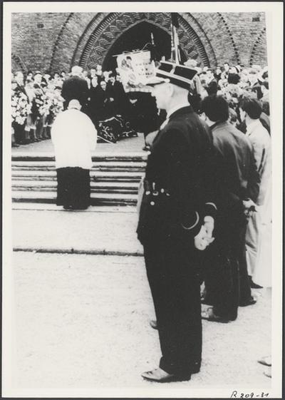Begrafenis Danny Thorez (1973).
