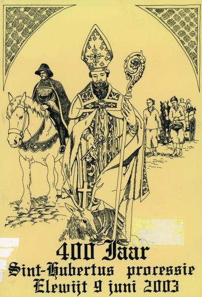 400 jaar Sint-Hubertus processie Elewijt 9 juni 2003