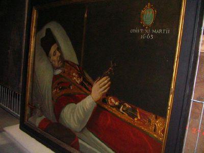 Jacob van Santvoert op zijn sterfbed