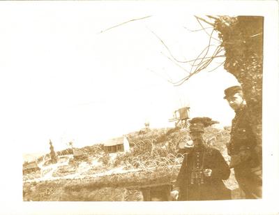 Het 'Fort Knokke', Yperlée (1915).