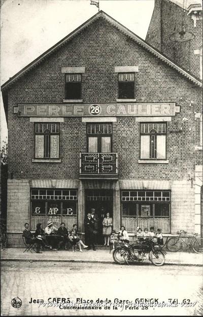 Jean Caers, Place de la Gare, Genck