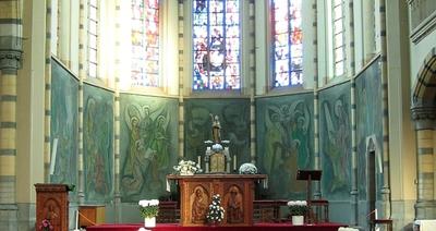 Taferelen uit het leven van de heilige Hubertus van Luik