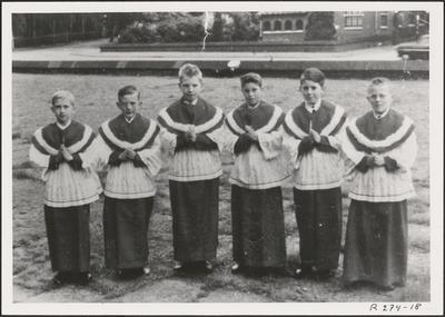 Misdienaars Sint-Barbaraparochie.