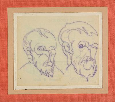Studie portretten Vincent Van Gogh