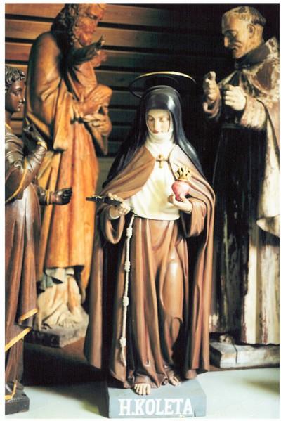 Heilige Coleta van Corbie