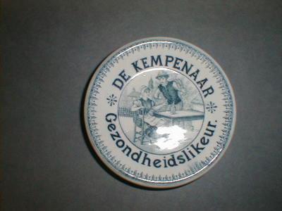 Onderzetter 'de Kempenaar Gezondheidslikeur' voor Neefs, Antwerpen, ca. 1900-1920