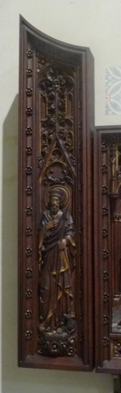 Panelen van de retabel van het O.L.Vrouw-altaar
