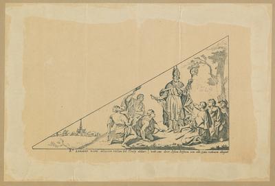 Bedevaartvaantje, Sint-Leonardus, Peutie