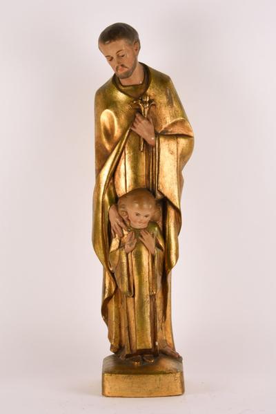 Sint-Jozefbeeld met het Christuskind
