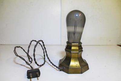 Een elektrisch bedienbare godslamp