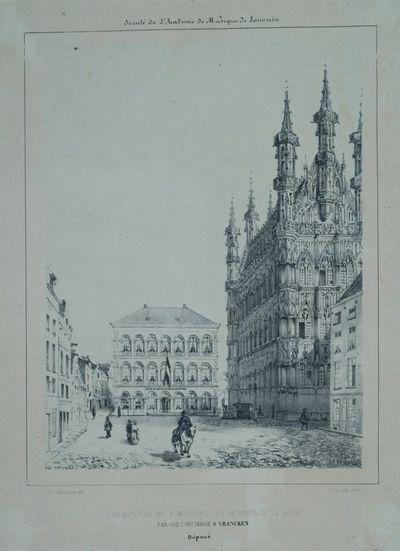 Étrennes pour 1852 à Messieurs les membres de la société par son concierge S. Vrancken