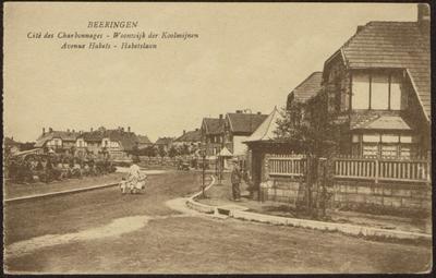 Beeringen Cité des Charbonnages - Woonwijk der Koolmijnen Avenue Habets - Habetslaan