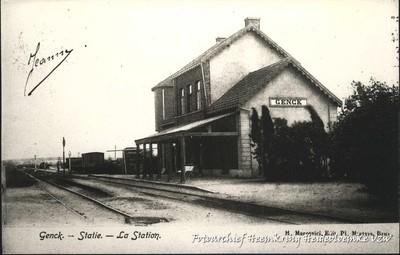 Genck - Statie - La Station