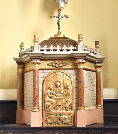 Tabernakel altaar heilige Antonius abt