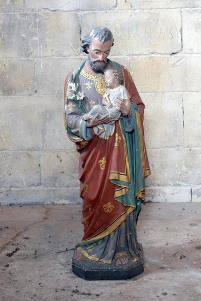 Sint-Jozef met kindje Jezus