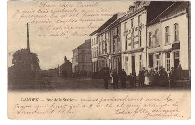 Landen - Rue de la Station