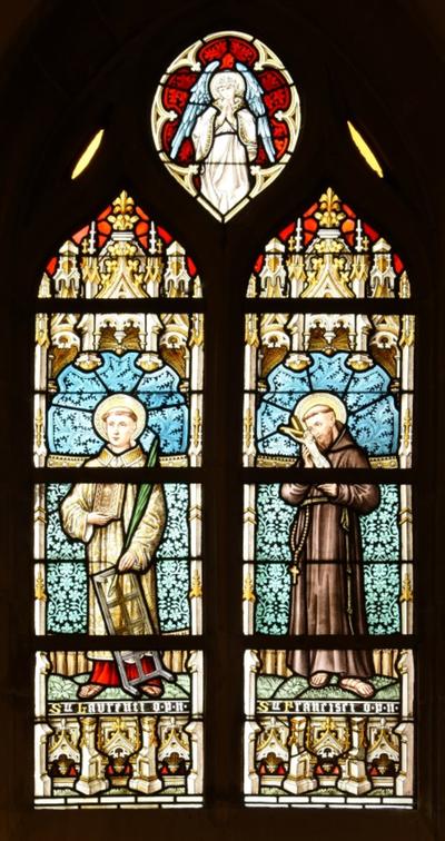 St Laurenti o.p.n St Francisci o.p.n.