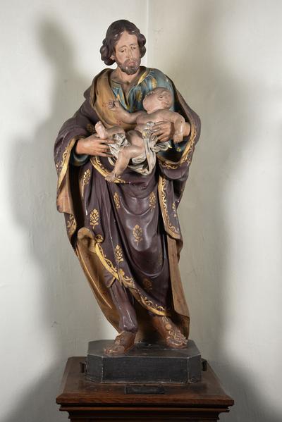 Beeld 'Heilige Jozef met Kind'