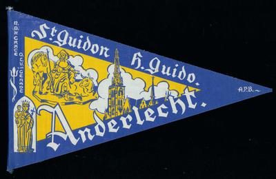 Bedevaartvaantje, O.L.V. van Genade, Anderlecht