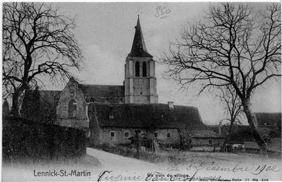 Dorpsgezicht van Sint-Martens-Lennik