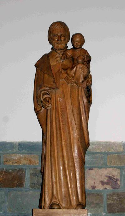 Heilige Jozef met kind (?)