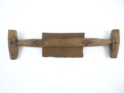 Handwerktuig om hout glad te schrapen