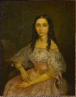 Portret van Amélie Marin