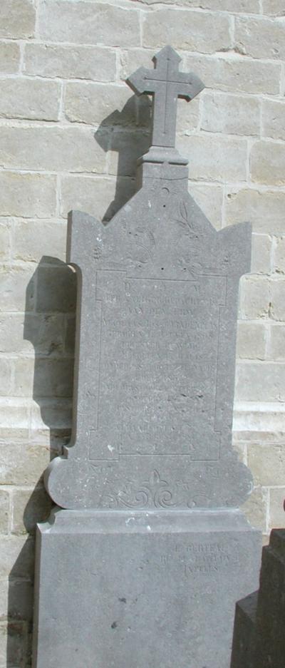 grafmonument Vanden Plas