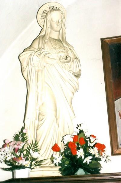 Onze-Lieve-Vrouw met brandend hart