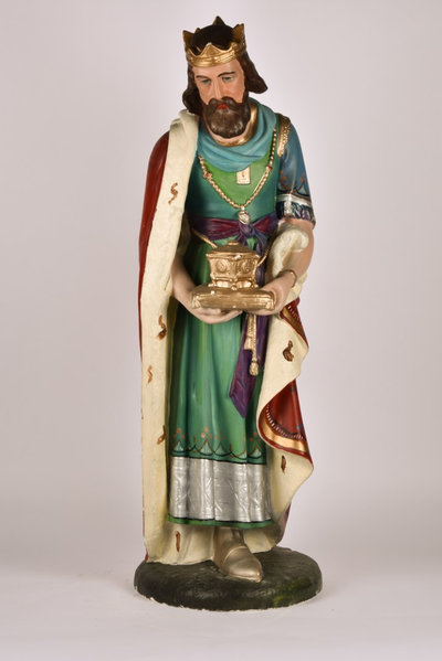 Kerststalfiguur 'Koning Caspar'